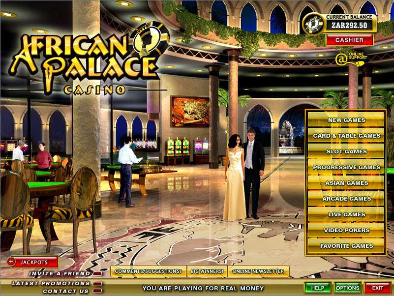 African Palace Casino is Rogue